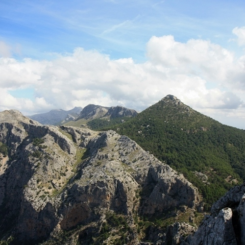 Guided walking in Mallorca - L'Ofre mountain