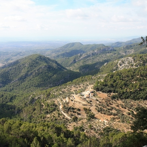 Guided walking in Mallorca - a view from near Deia